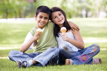 Sladoled odlična hrana