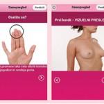 Breast test aplikacija
