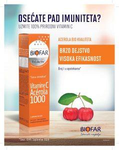 vitamin c acerola biofar