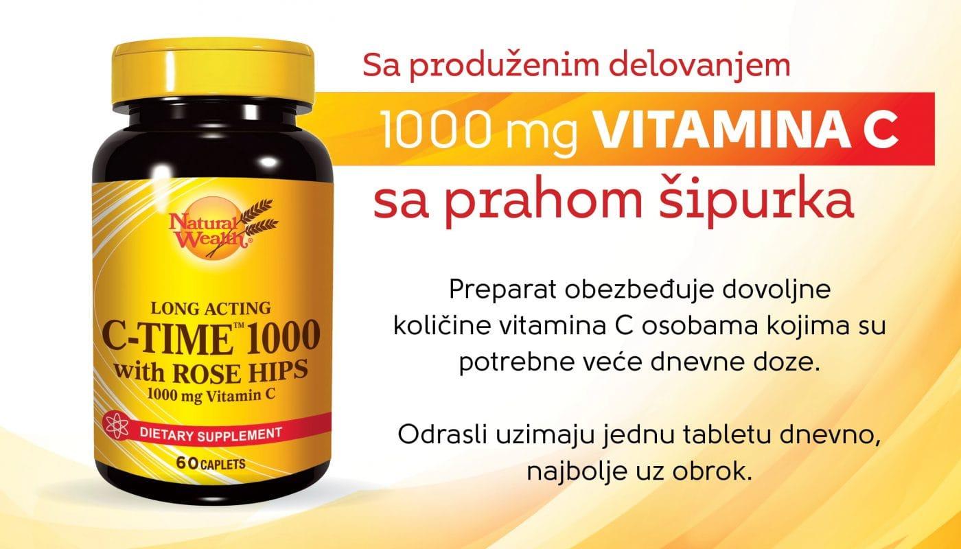 Vitamin C 1000 NaturalWealth