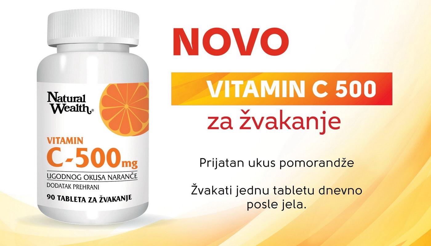 vitamin C 500 NaturalWealth