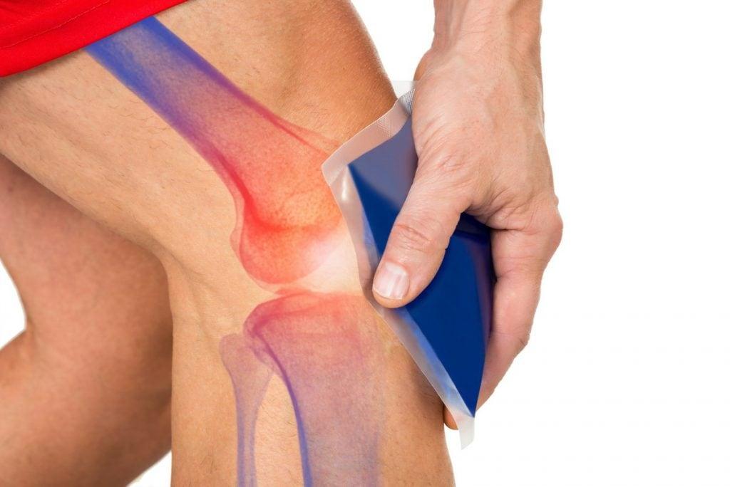 povreda kolena hlađenje